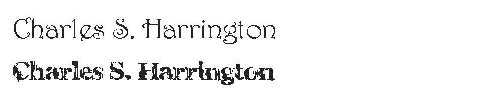 harrington copy